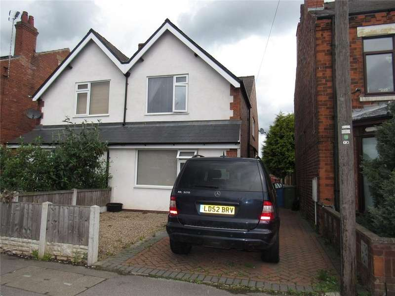 3 Bedrooms Semi Detached House for sale in Chesterfield Road North, Mansfield, Nottinghamshire, NG19