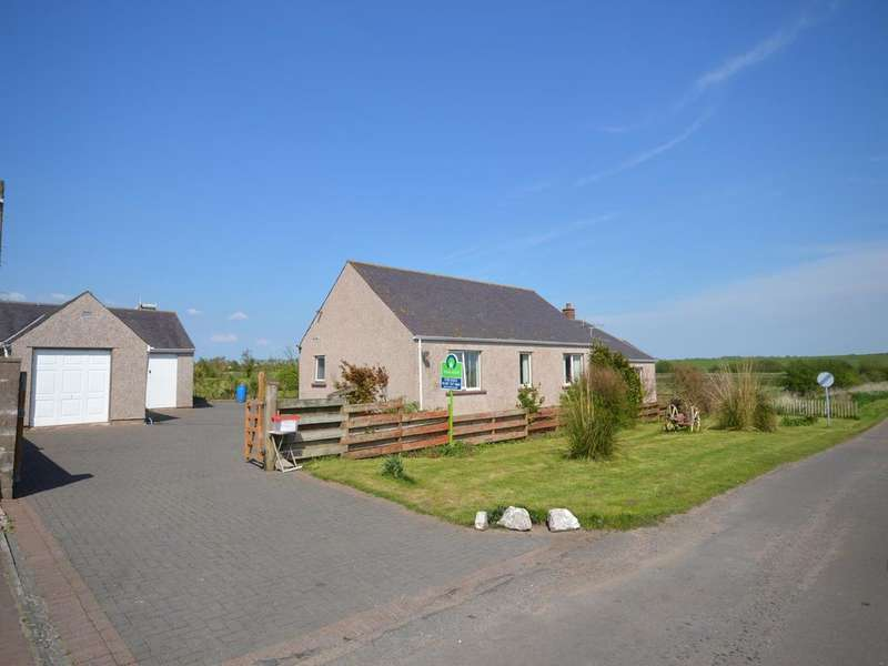 4 Bedrooms Detached Bungalow for sale in Aig Na Taigh, Ruthwell, Dumfries, DG1