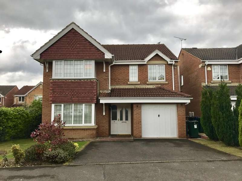 4 Bedrooms Detached House for sale in Lynham Avenue, Birdwell S70