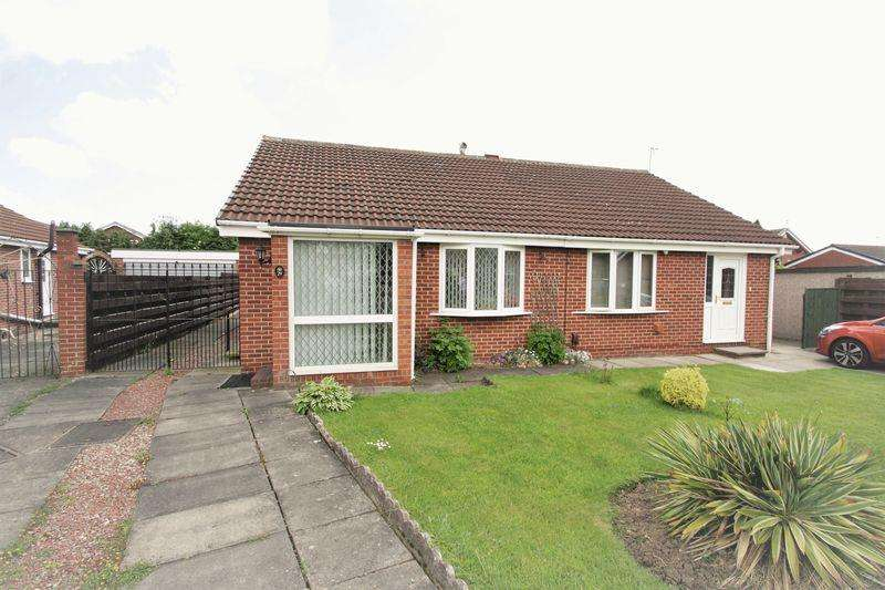 2 Bedrooms Semi Detached Bungalow for sale in Marley Close, Elm Tree, Stockton, TS19 0UZ