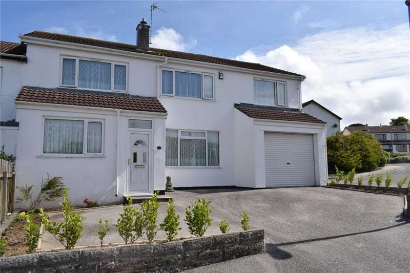 5 Bedrooms Semi Detached House for sale in Harefield Crescent, Camborne, Cornwall