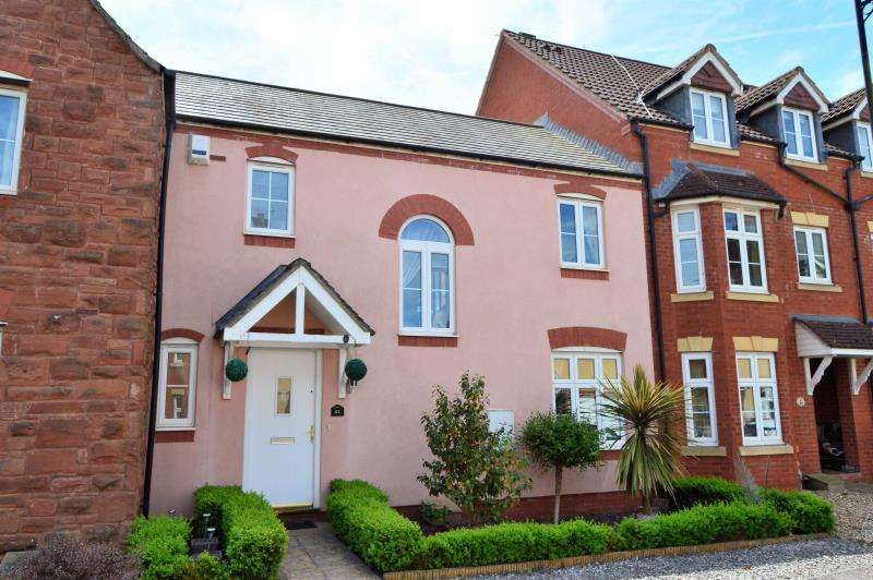 3 Bedrooms Terraced House for sale in Burge Crescent, Cotford St. Luke, Taunton, Somerset