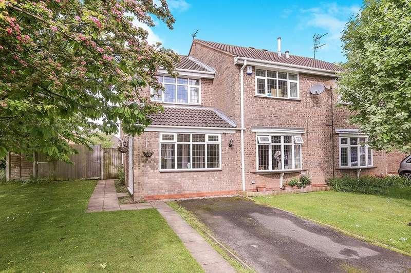 3 Bedrooms Semi Detached House for sale in Livingstone Avenue, Perton, Wolverhampton, WV6