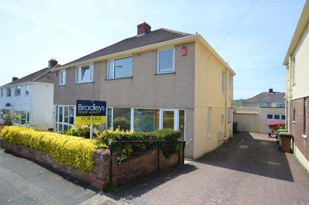 3 Bedrooms Semi Detached House for sale in St. Margarets Road, Plymouth, Devon