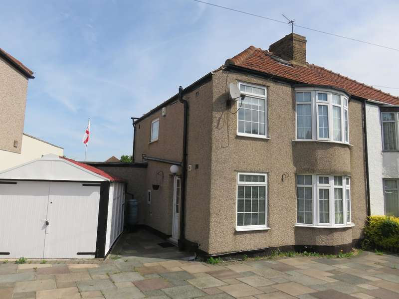 3 Bedrooms Semi Detached House for sale in Exeter Road, Welling, Kent, DA16 3JZ