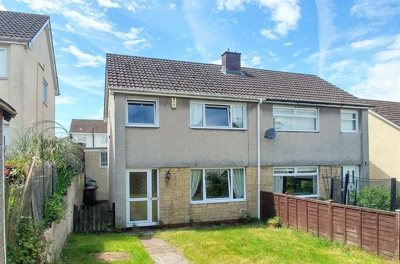 3 Bedrooms Semi Detached House for sale in St Julians Court, Caerphilly