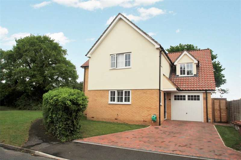 4 Bedrooms Detached House for sale in Notcutts, East Bergholt, Colchester