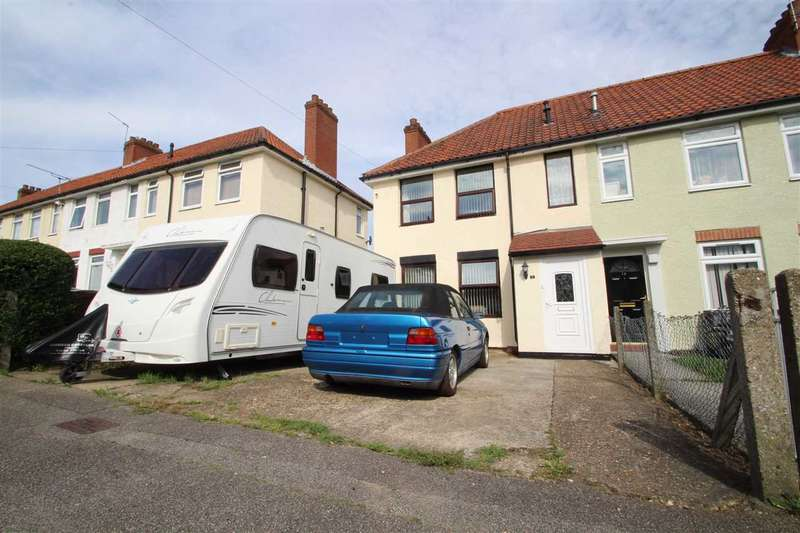 3 Bedrooms End Of Terrace House for sale in Browning Road, Ipswich