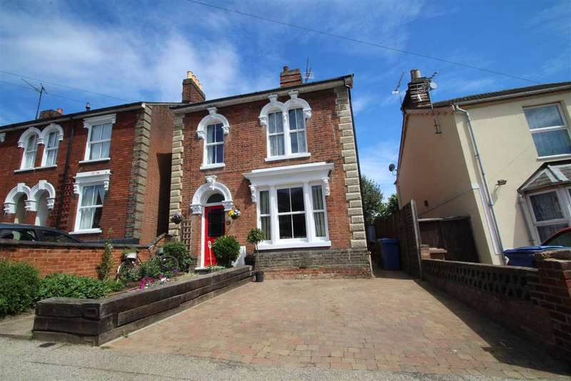 4 Bedrooms Detached House for sale in Warwick Road, Ipswich