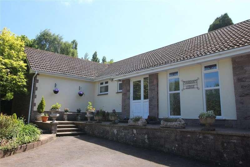 4 Bedrooms Detached Bungalow for sale in Martcombe Road, Markham, Bristol, BS20