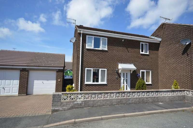 2 Bedrooms Semi Detached House for sale in Sandringham Avenue, Whitehaven, CA28