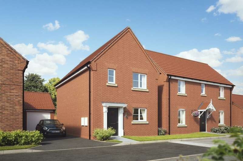 3 Bedrooms Semi Detached House for sale in New Street, Measham, Swadlincote, DE12