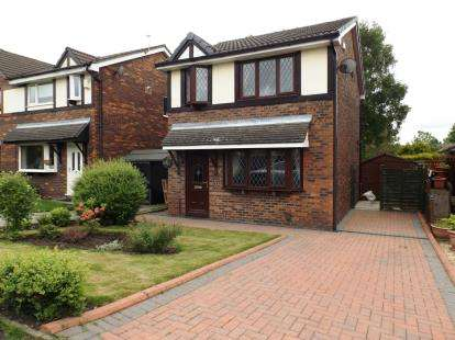 3 Bedrooms Detached House for sale in Old Vicarage, Westhoughton, Bolton, Greater Manchester, BL5
