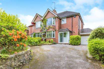 3 Bedrooms Semi Detached House for sale in Priory Road, Westlands, Newcastle Under Lyme, Staffs