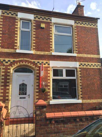 3 Bedrooms End Of Terrace House for sale in Aberdeen Crescent, Edgeley, Stockport, Greater Manchester