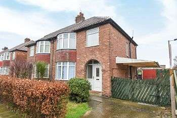 3 Bedrooms Semi Detached House for sale in Penyghent Avenue, York, YO31