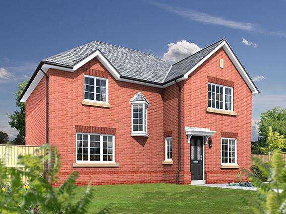 4 Bedrooms Detached House for sale in Plot 21, The Oxford, The Limes, Barton, Preston, Lancashire, PR3 5DQ