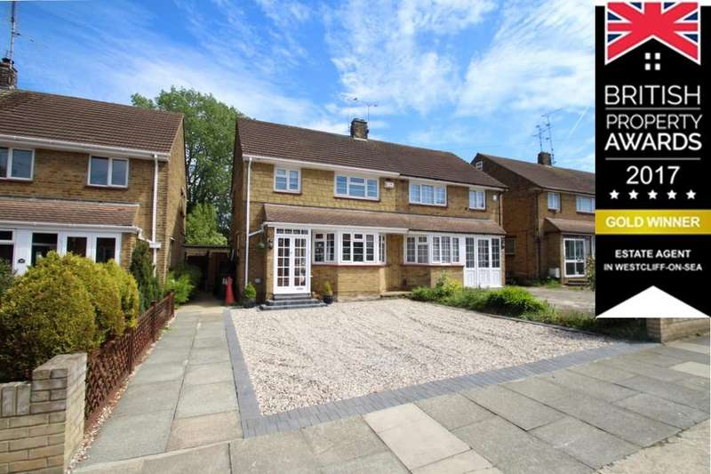 3 Bedrooms Semi Detached House for sale in RICHMOND DRIVE, WESTCLIFF ON SEA SS0