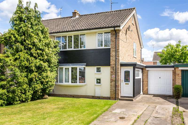 3 Bedrooms Semi Detached House for sale in Allington Drive, York, YO31