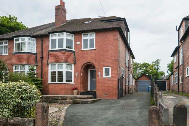 4 Bedrooms Semi Detached House for sale in Ashley Road, Altrincham