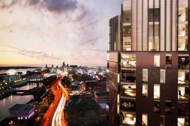 1 Bedroom Property for sale in The Tower At X1 The Quarter, Liverpool, L8 5RS