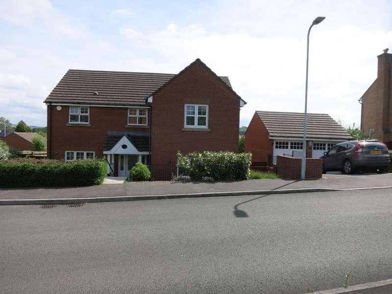 4 Bedrooms Detached House for sale in Homefarm Way, Parc Penllergaer, Swansea.