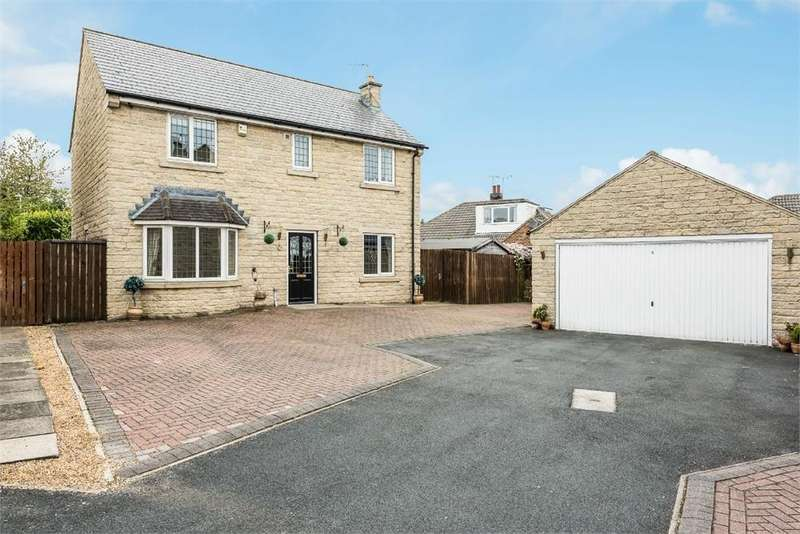 4 Bedrooms Detached House for sale in Farriers Court, Drighlington, West Yorkshire