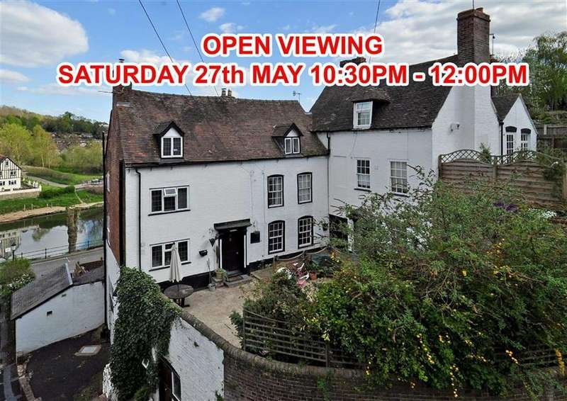 3 Bedrooms Town House for sale in 30, Friars Street, High Town, Bridgnorth, Shropshire, WV16