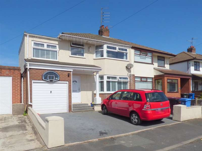 4 Bedrooms Semi Detached House for sale in Chestnut Avenue, Huyton, Liverpool