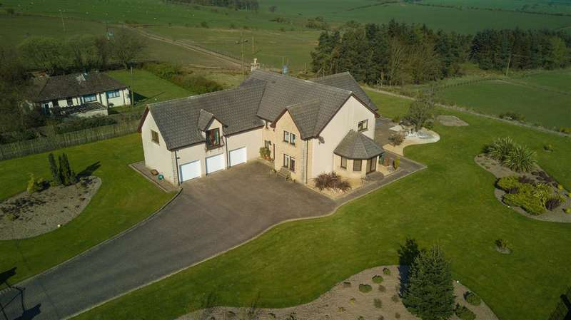 5 Bedrooms Detached House for sale in Kingsbarn House, Westershieldhill, Falkirk