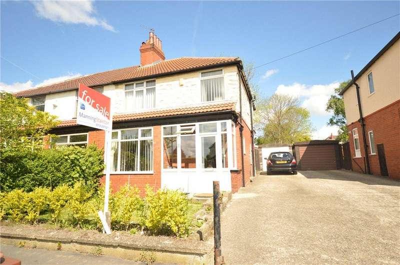 3 Bedrooms Semi Detached House for sale in East Moor Crescent, Leeds