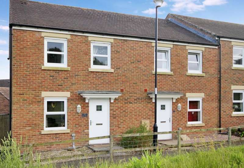 3 Bedrooms Semi Detached House for sale in Burrium Gate, Usk