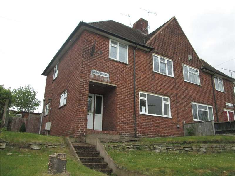 3 Bedrooms Semi Detached House for sale in Spur Crescent, Worksop, Nottinghamshire, S80