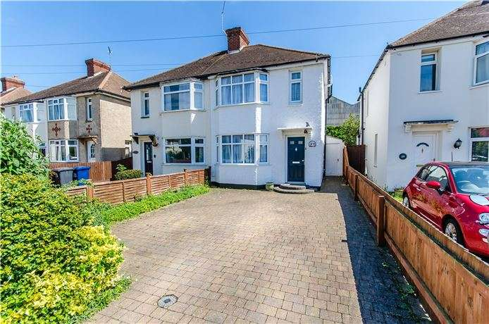 3 Bedrooms Semi Detached House for sale in The Westering, Cambridge