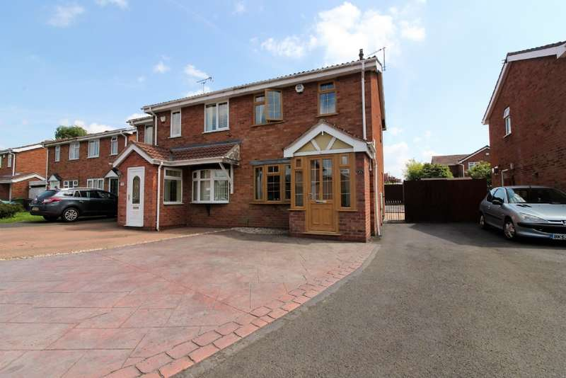 2 Bedrooms Semi Detached House for sale in Packwood Close, Willenhall