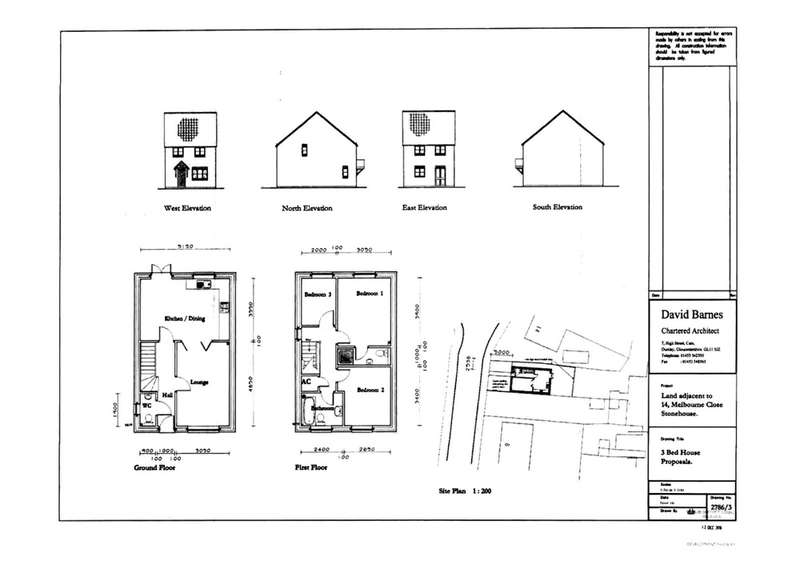 3 Bedrooms Land Commercial for sale in Melbourne Close, Stonehouse, Gloucestershire