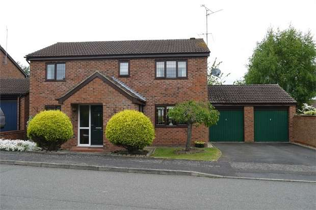 4 Bedrooms Detached House for sale in Brookfield Road, Market Harborough, Leicestershire