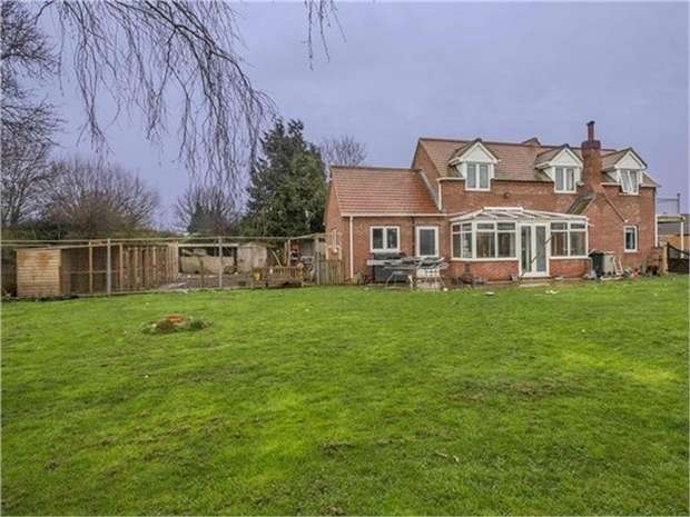 4 Bedrooms Detached House for sale in Station Road, Little Steeping, Spilsby, Lincolnshire