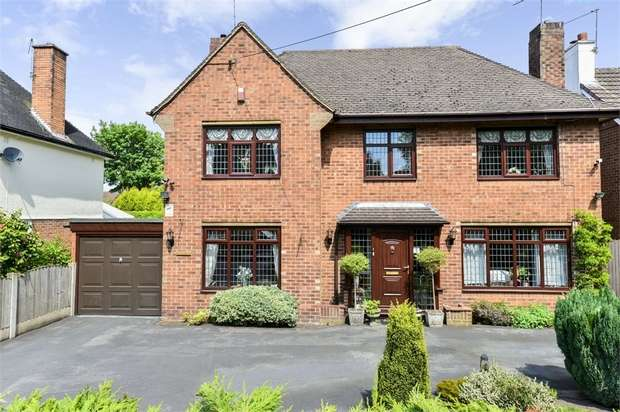 4 Bedrooms Detached House for sale in Pikemere Road, Alsager, Stoke-on-Trent, Cheshire