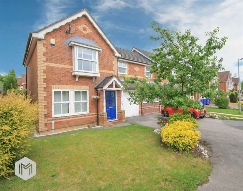 3 Bedrooms Semi Detached House for sale in Bleasefell Chase, Worsley, Manchester