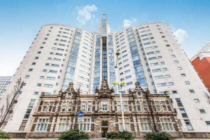 2 Bedrooms Flat for sale in Altolusso, Bute Terrace, Cardiff, Caerdydd