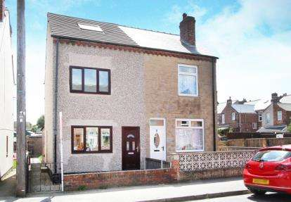 3 Bedrooms Semi Detached House for sale in Victoria Avenue, Staveley, Chesterfield, Derbyshire