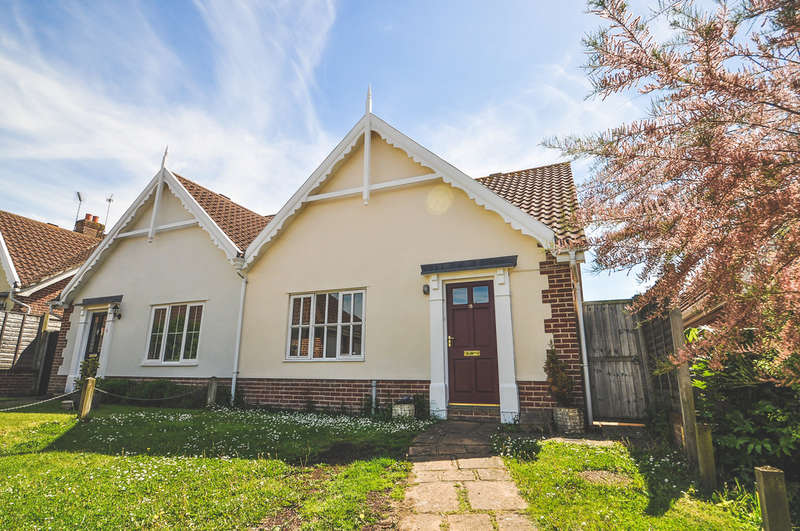 2 Bedrooms Semi Detached Bungalow for sale in Roman Way, Halesworth