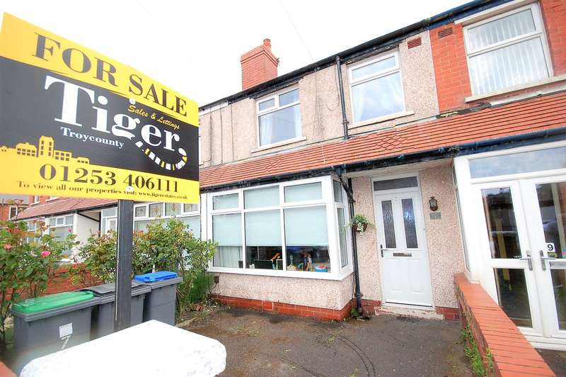 2 Bedrooms Terraced House for sale in Pickmere Avenue, Blackpool