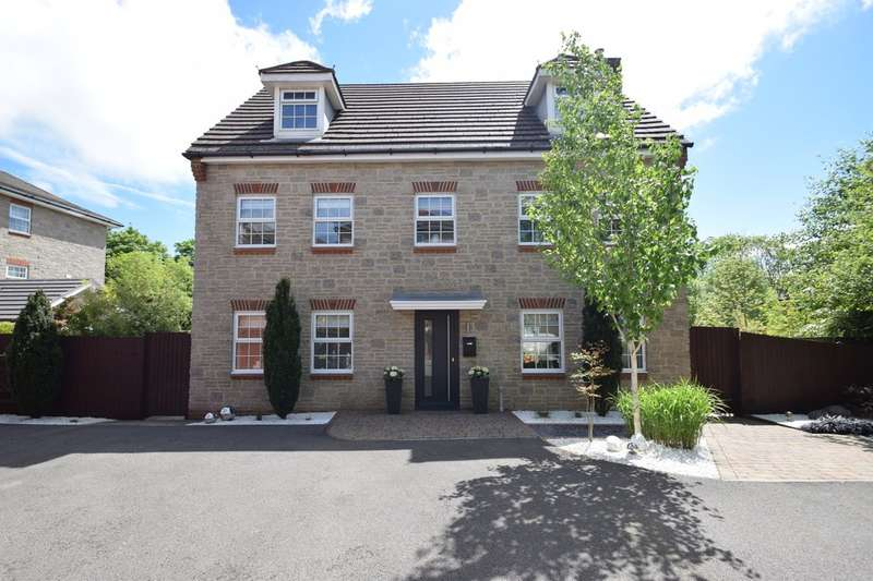 5 Bedrooms Detached House for sale in 9 Bryn Dryslwyn, Broadlands, Bridgend, Bridgend County Borough, CF31 5BT.