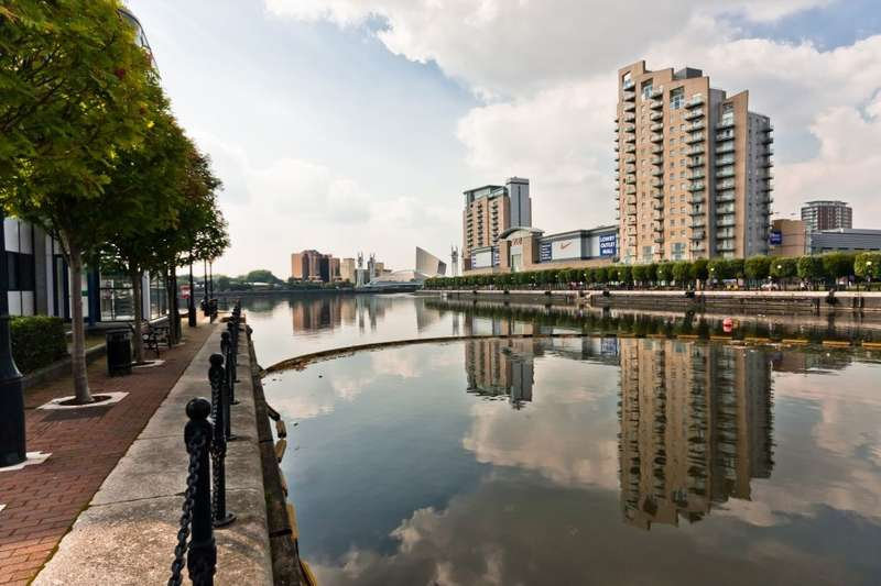 2 Bedrooms Flat for sale in Sovereign Point , Salford Quays