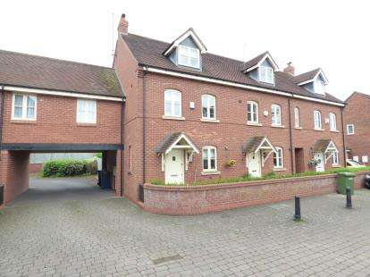 3 Bedrooms End Of Terrace House for sale in Spring Hollow, Eccleshall, Stafford