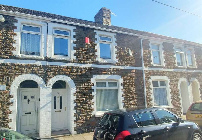 3 Bedrooms Terraced House for sale in Windsor Street, Caerphilly