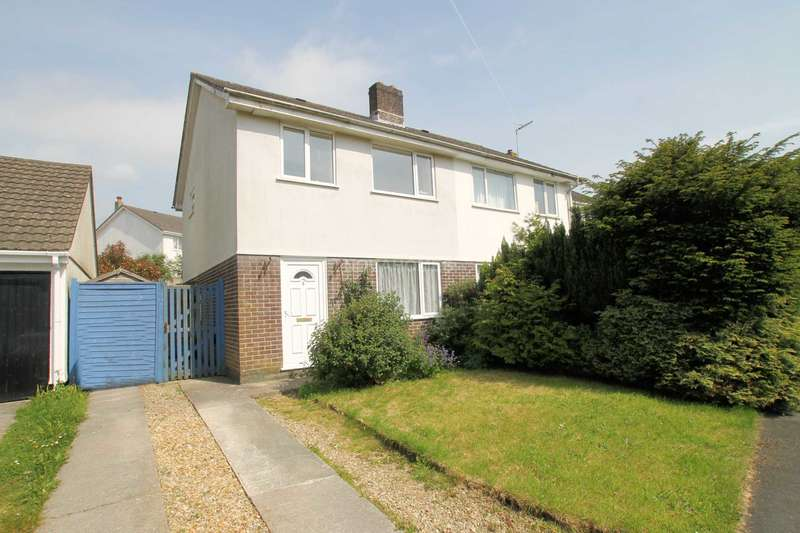 3 Bedrooms Semi Detached House for sale in Trematon Drive, Ivybridge, PL21 0HT