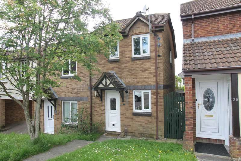 2 Bedrooms Semi Detached House for sale in Bakers Close, Plympton, PL7 2GH